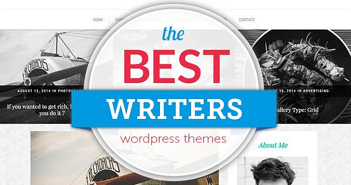 Best 5 Free WordPress Themes for Writers